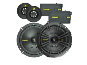 Kicker 6'' 100W RMS component speaker system-0