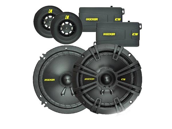Kicker 6.5″ 100W RMS component speaker system