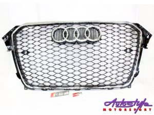Audi a4 b9 2013+ grille -0