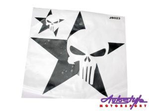 Jeep Sticker Set (punisher skull design)-0