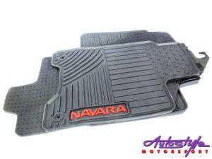 Car mats for Nissan Navara (set of 4) -0