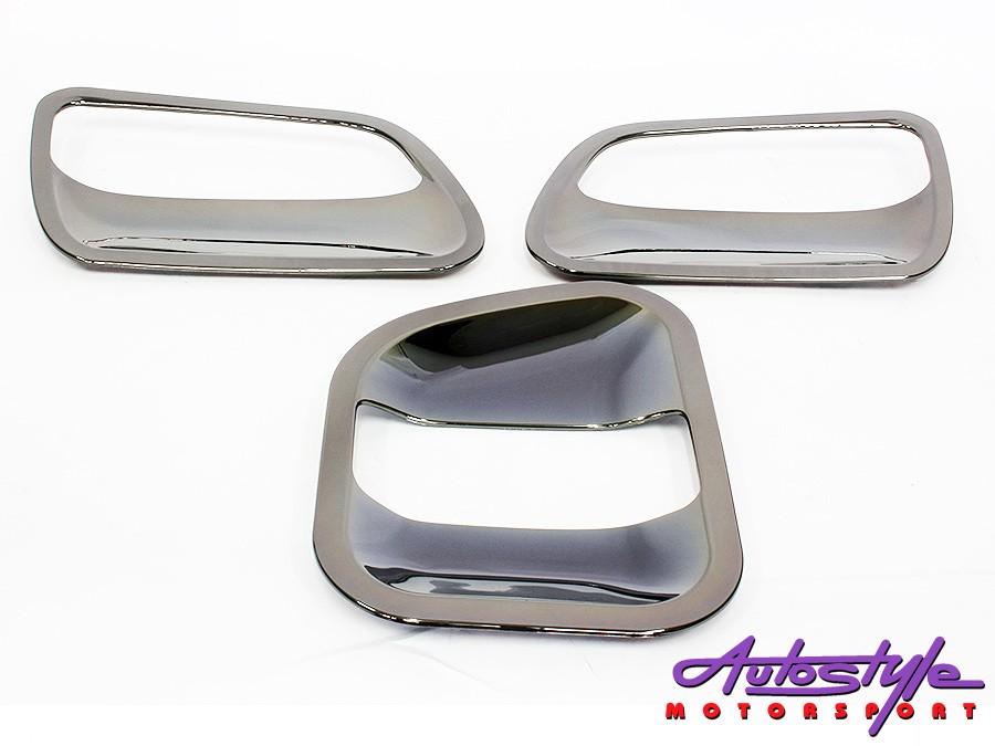 Toyota Quantum Aluminum Door Bowl Cover-0