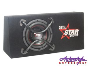"Starsound SSW-B8-4600 8"" Subwoofer with Enclosure-0"