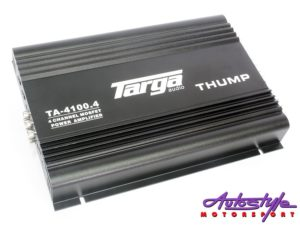 Targa Thump Series 4900w 4channel Amplifier-0