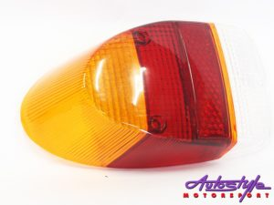 VW Classic Beetle 68-74 Amber/red/white tailights -0