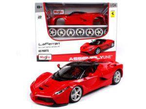 Maisto 1:24 Ferrari LaFerrari Model Kit-0