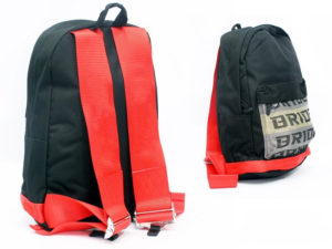 Racing Harness Style Backpack (red)-0