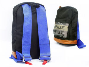 Racing Harness Style Backpack (blue)-0