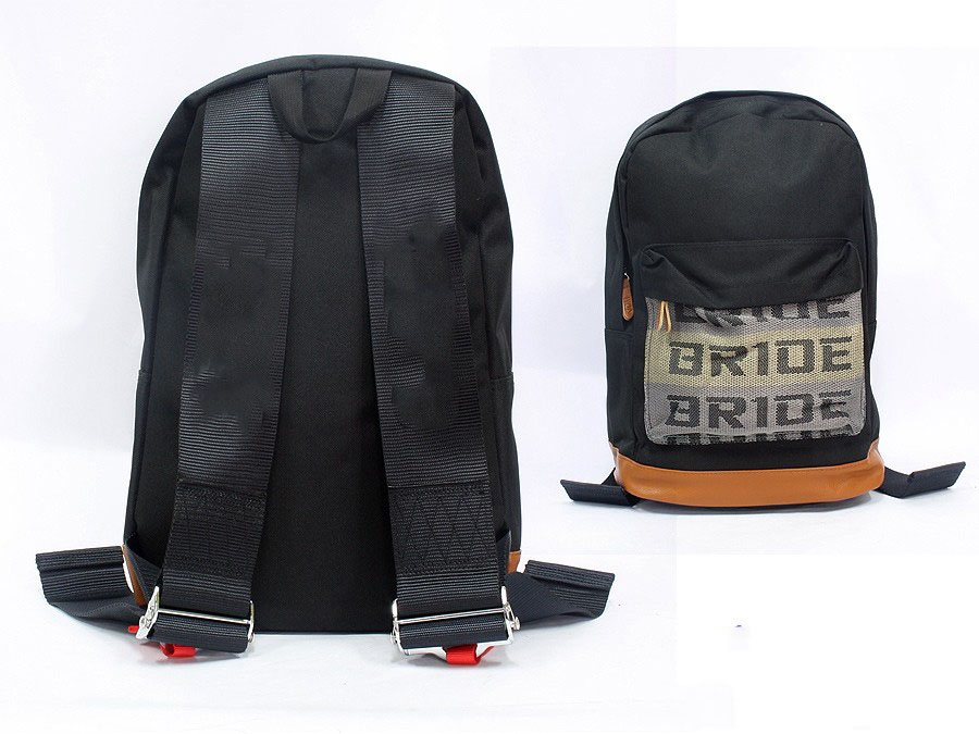 Racing Harness Style Backpack (black)