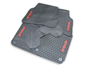 VW Polo 6R 2010-2016 Rubber Floormats (5pc set)-0
