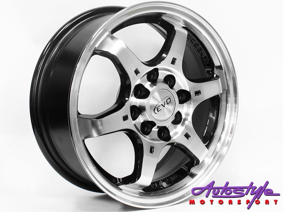 14″ Evo 1257 4/100 & 4/114 Alloy Wheels