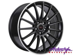 "19"" A-Line Modena 5/112 STBKML Alloy wheels-0"