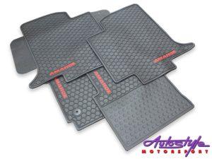 VW Amarok 2010+ Rubber Floormats (5pc set)-0
