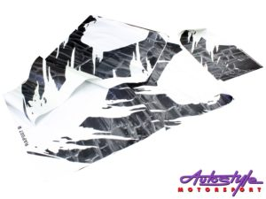 "Ford Raptor ""torn up"" style vinyl sticker kit-0"