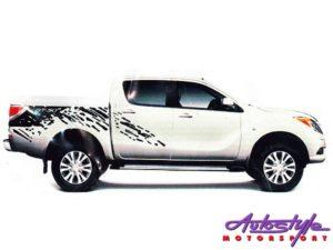 Mazda BT-50 Vehicle Vinyl Sticker Kit-0
