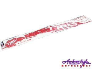 Toyota Hilux TRD Red Vinyl Sticker Kit-0