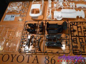 Tamiya 1:24 Toyota 86 Assembly Kit-27003