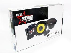 "Starsound SSC-159S 5"" Shallow Series Split System-0"