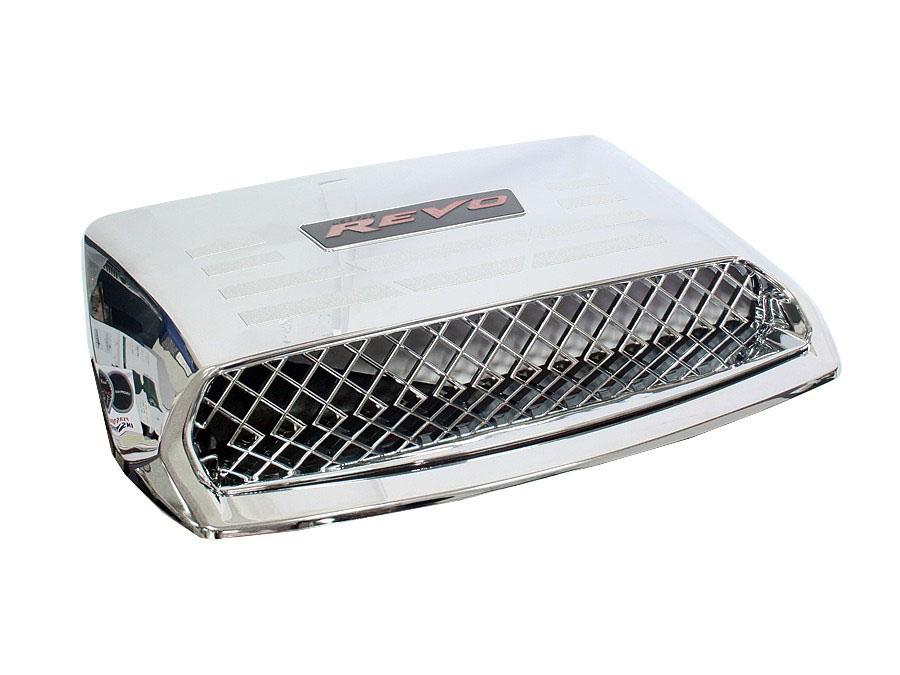 Toyota Hilux Revo Chrome Bonnet Scoop