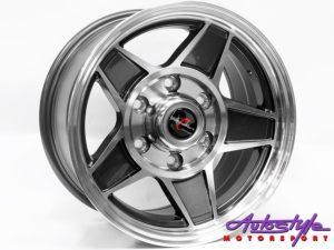 "15"" TTR Challenger 6/139 Alloy Wheels-0"