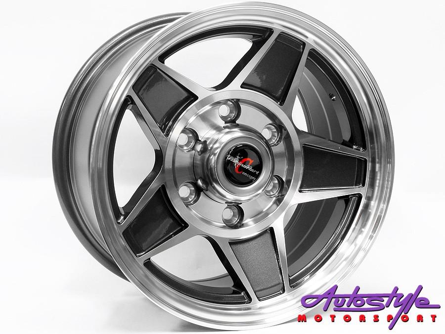15″ TTR Challenger 6/139 Alloy Wheels