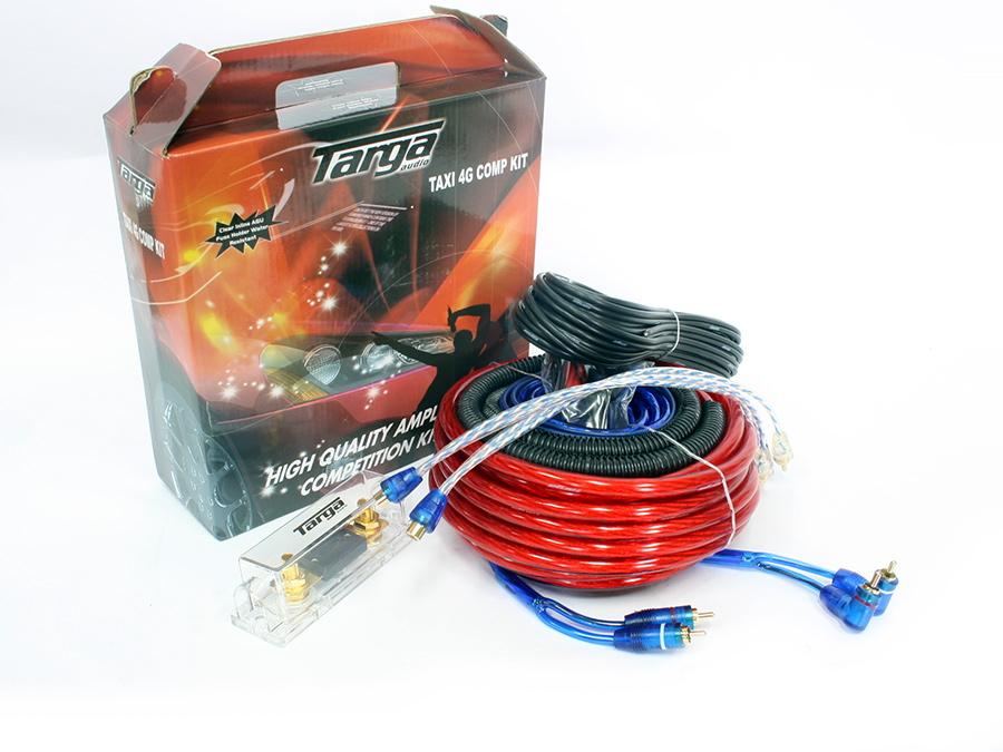 Targa 4gauge Taxi Series Competition Wiring Kit