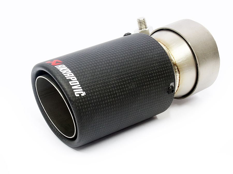 Carbon Fibre Finish Exhaust Tip (single)