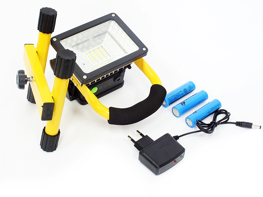 Universal LED 30w rechargeable Floodlight with strobe