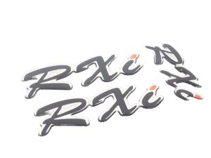 Toyota RXi 3pc Gel Dome Sticker Set-0