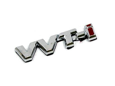 VVTi Chrome Sticker Badge-0