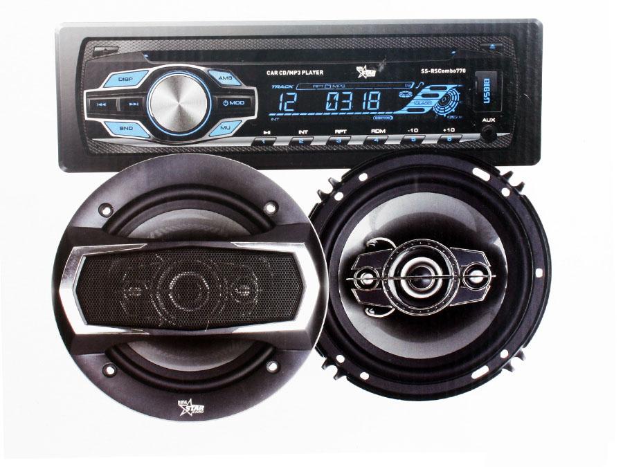 Starsound Mp3 Radio with 6×9″ Speakers & 6″ Midrange Combo