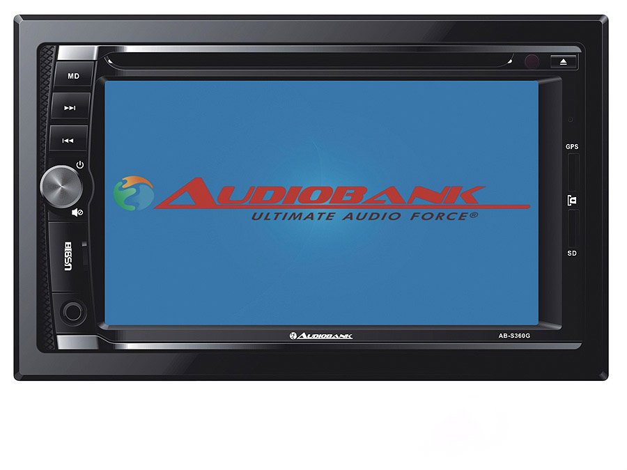 Audiobank AB-S360G Double Din DVD System