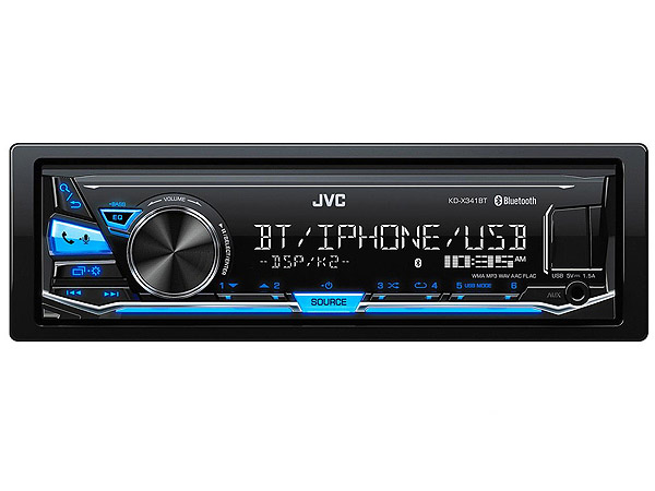JVC KD-X341BT Mp3 with Bluetooth/USB Media Receiver