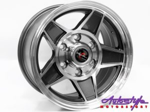 "15"" TTR Challenger 6/139 Alloy Wheels-0"
