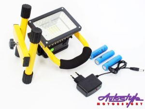 Universal LED 30w rechargeable Floodlight with strobe-0
