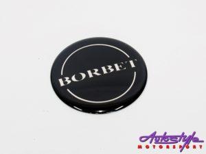 Borbet Design Wheel Decal Sticker each-0