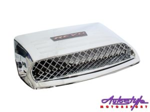 Toyota Hilux Revo Chrome Bonnet Scoop-0