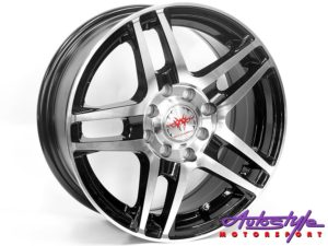 "14"" MM 1708 4/100 & 4/108 MB Alloy Wheels-0"