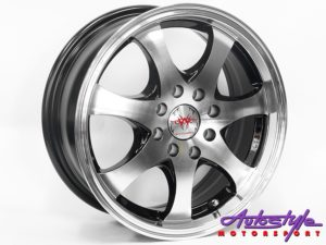 "14"" M1721 4/100 & 4/108 MB Alloy Wheels-0"