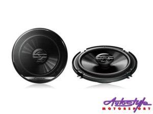 "Pioneer TS-G1620F 6"" 300w Coaxial Speakers-0"