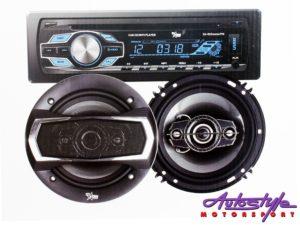 """Starsound Mp3 Radio with 6x9"""" Speakers & 6"""" Midrange Combo-0"""