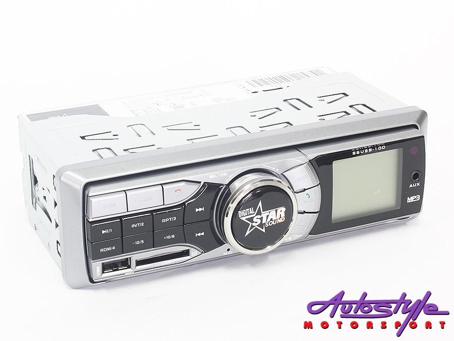 Starsound SSUSB-100BT Media Player with bluetooth-0