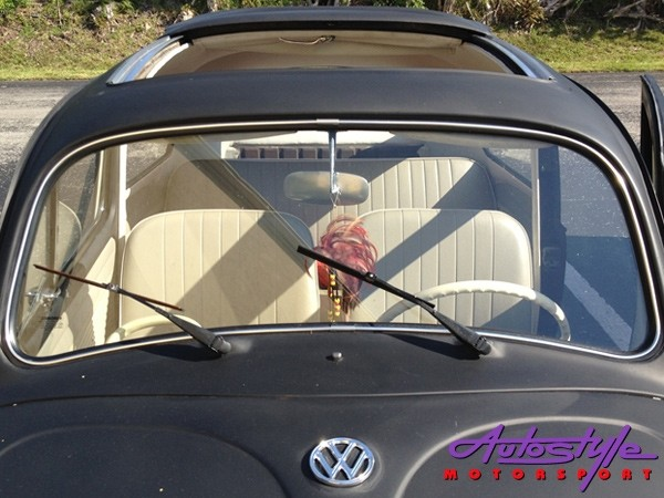 VW Classic Beetle 67-79 Front Windscreen Seal with moulding groove