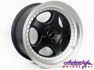 "15"" Evo Ruf 4/100 MBSL Alloy Wheels-0"