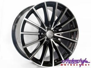"19"" VW 5246 Spider 5/112 BKMF Alloy Wheels-0"