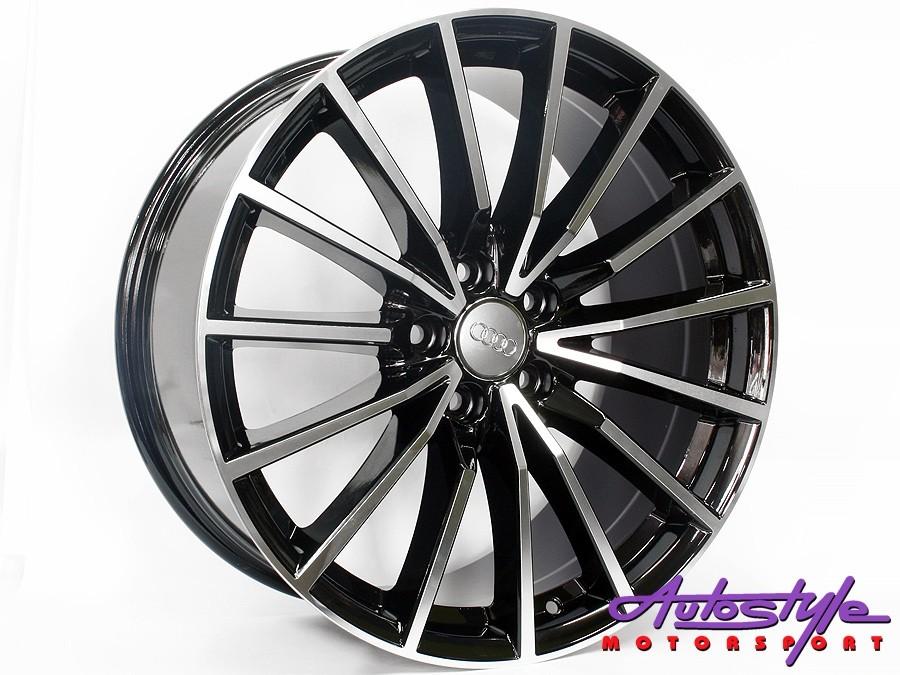 19″ VW 5246 Spider 5/112 BKMF Alloy Wheels