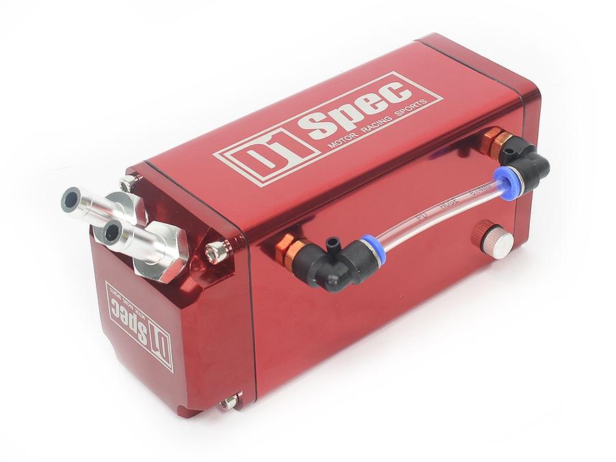 D-1 Spec Alluminium Oil Catch Can (red)