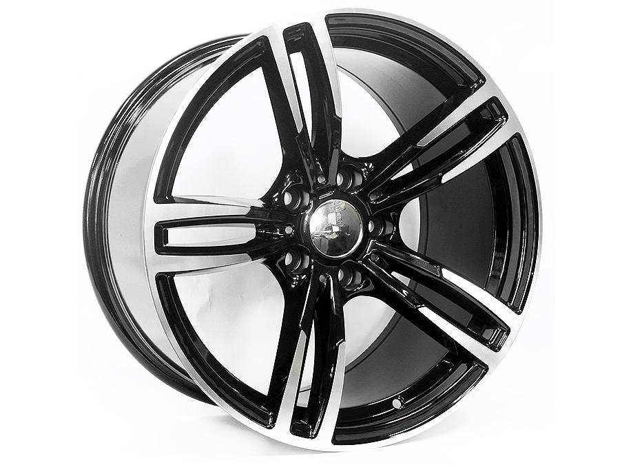 18″ EM Four 5/120 Narrow & Wide Alloy wheels
