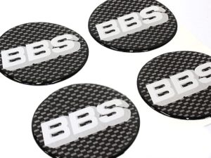 BBS 70mm Wheel Center Cap Stickers-0