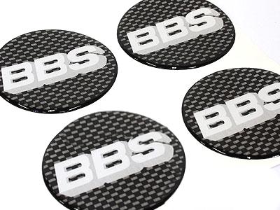 BBS 70mm Wheel Center Cap Stickers